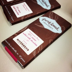 have you had French Broad Chocolates? Yum.