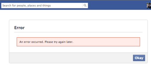 thisistheverge:  Facebook Connect bug sends the internet to useless error page Markkkkkkkkkkkk  In which everyone on the internet felt like doing this to Mark Zuckerberg's computer for 20 minutes: