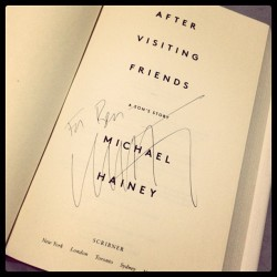 It seems only fitting that Michael Hainey's book signing would be at Brunello Cucinelli's Bleecker Street outpost in the West Village. A dapper setting for a dapper man.   (at Brunello Cucinelli)
