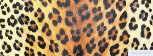 Cheetah Print 3 Facebook Cover