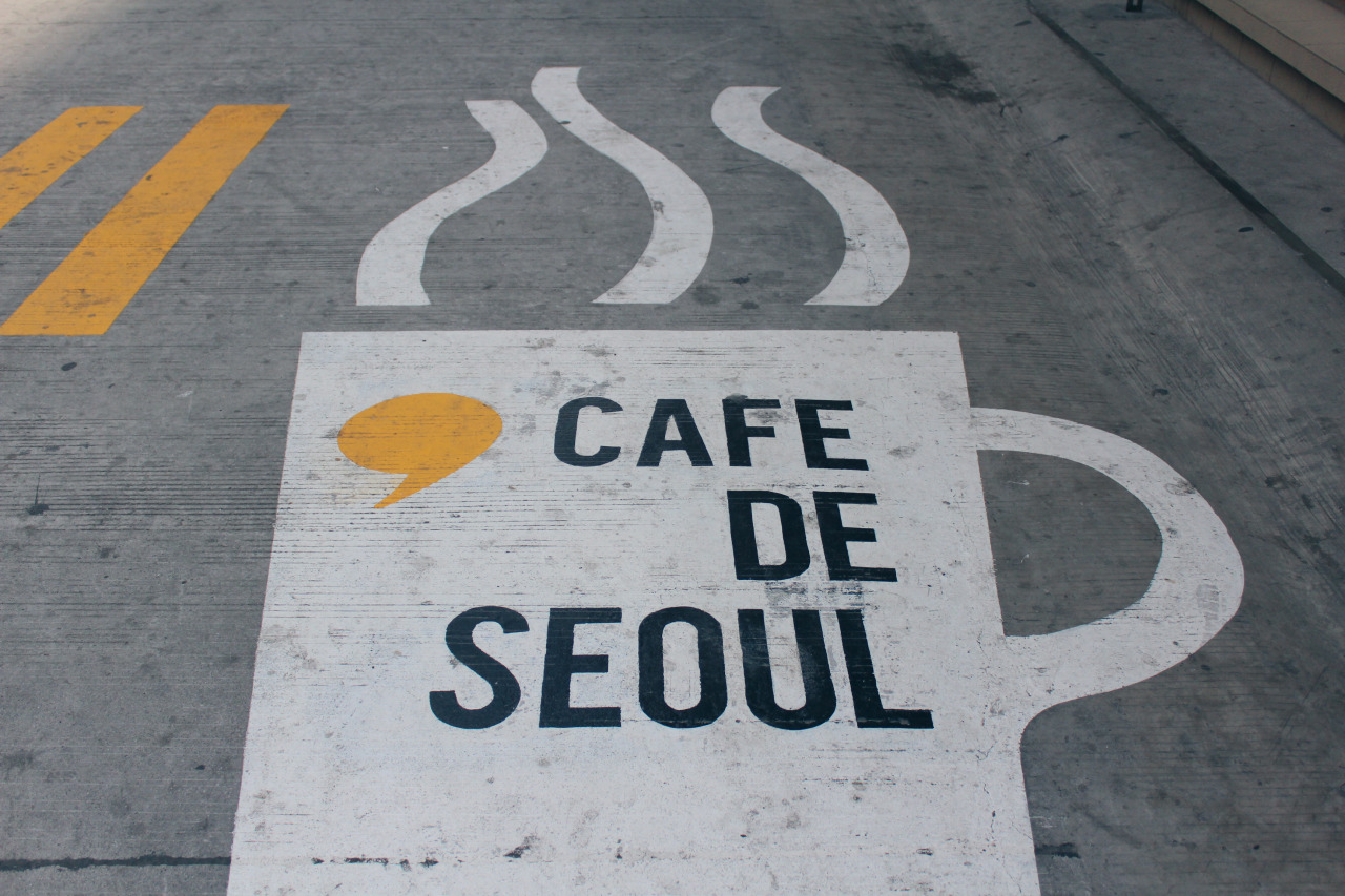 Cafe De Seoul Beside De La Salle University - Manila, Philippines