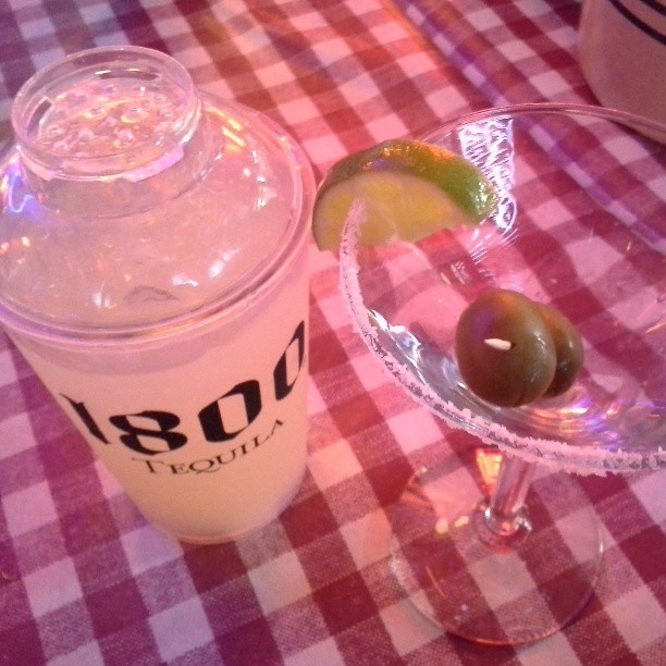 #nofilter I've never had a Mexican Martini before. #carpenoche http://bit.ly/110LB3l