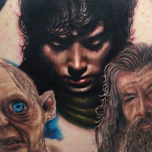 realismtattooart:  Tattoo artist: Rich Pineda - Yucca Valley, CA Instagram: @richiebon Website: Facebook.com/richpinedatattoos Realismtattooart.tumblr.com
