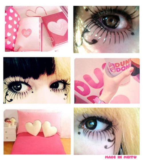 (via Cute Make up)