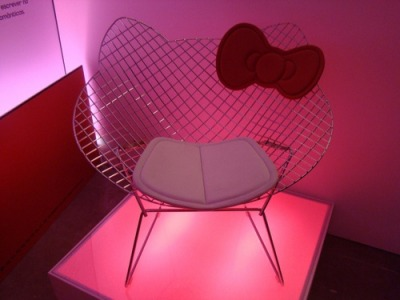 hello-kitty:  Hello Kitty Chair
