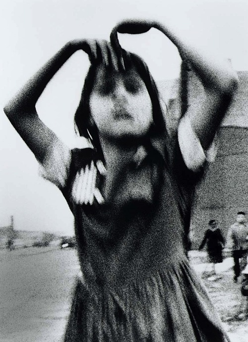 William Klein Girl Dancing in Brooklyn, 1955