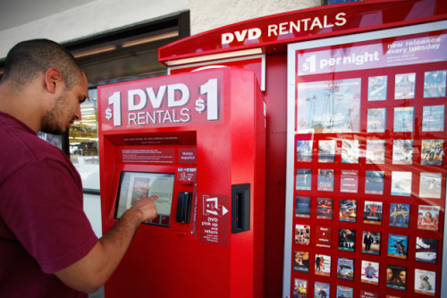 "Can Redbox Standout In Streaming? http://www.businessweek.com/articles/2013-01-17/can-redbox-stand-out-in-streaming I just read this article on Bloomberg BusinessWeek.  The picture shows a man using Verizon's product/service ""Redbox"" machine.  When Redbox came out, it was a fast, fun and inexpensive new way to watch newly released movies. I know from experience, I have found these RedBox kiosks to be very convenient.  Verizon is now taking the next step and expanding their RedBox invention to the world wide web.  Even though they are competing with many huge companies, such as Netflix and Amazon, I believe they have a chance to be successful.  Most people, like myself, are looking for the best/cheapest shopping option.  The idea of spending only a few dollars a month for newly released movies, is a great one.  Verizon is the provider for FiosTv.  A lot of people do not have Fios. They either do not pay for cable or pay for another provider.  I believe that Verizon is trying to target those non-Verizon customers.  RedBox's instant movies could be a significant new concept for movie watchers."