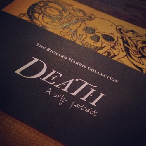 If you haven't been to this Go Go Go Go!!!!! #london #exhibition #death #welcomecollection #inspiring #skull