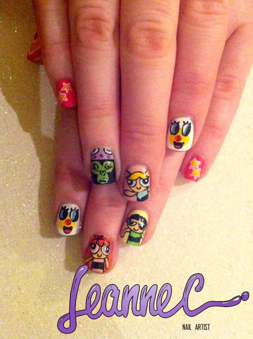 leannecnails:  ♡ Powerpuff Girls! ♡