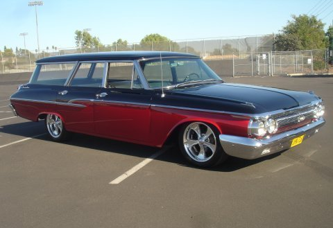 musclecardreaming:  62 Merc wagon  Dope!