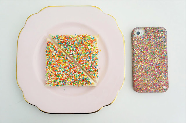 confectionerybliss:   Fairy Bread  smelly