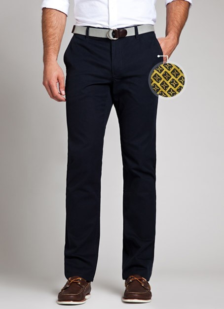 charity: water Chinos | Bonobos Two of my favorite things coming together — fashion meets social impact. 100 of these chinos featuring a charity: water lining have been produced. Pick up yours today on the Bonobos website!
