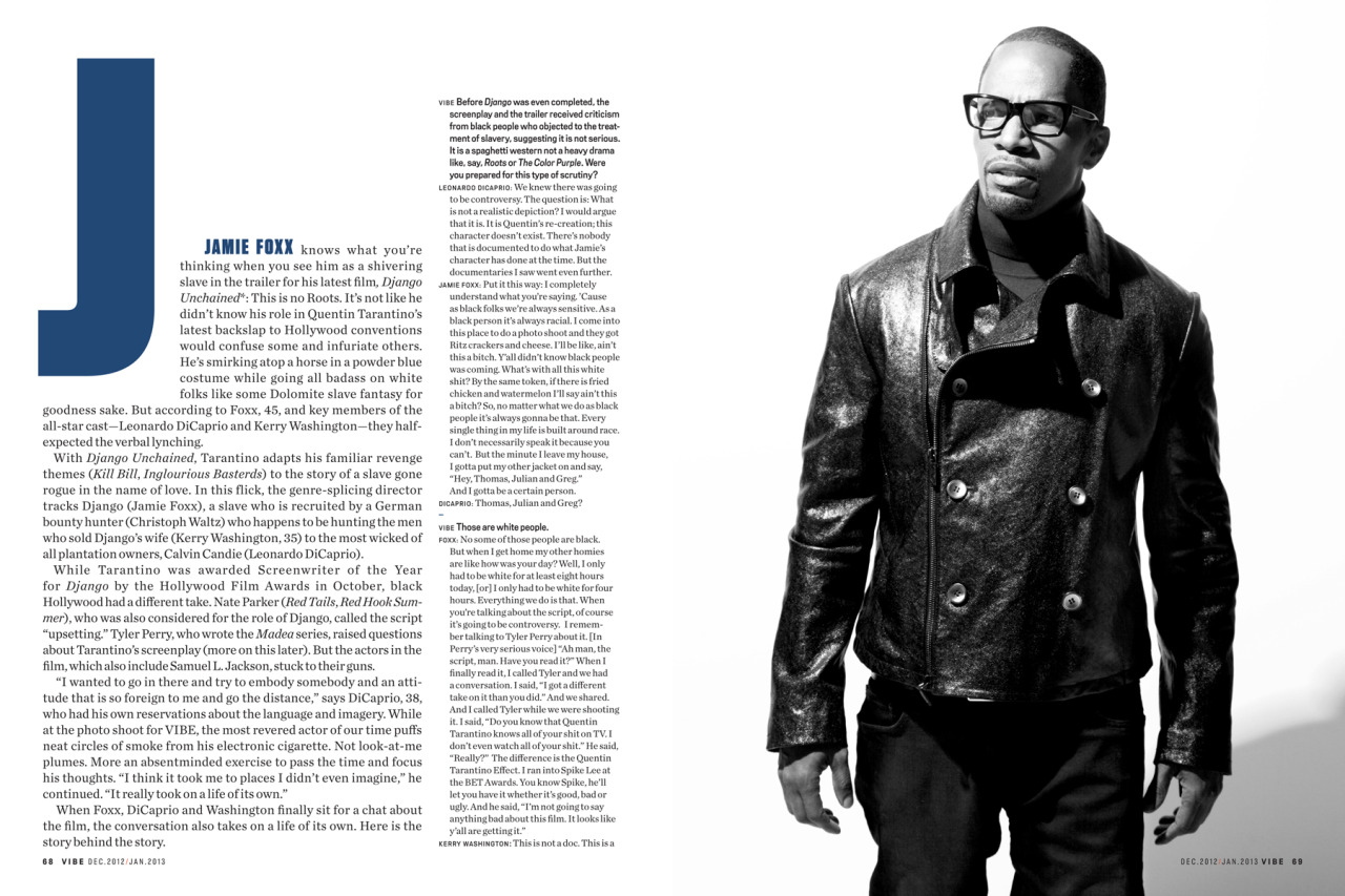 Django article for Vibe  ( spread 2 )