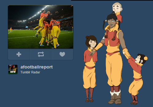 thought it was some air bender cosplay at first..