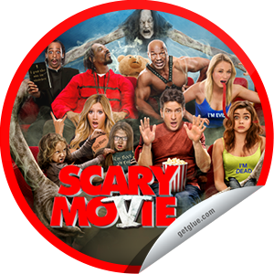 I just unlocked the Scary Movie 5 Box Office sticker on GetGlue                      7041 others have also unlocked the Scary Movie 5 Box Office sticker on GetGlue.com                  The supernatural is coming. Bring protection. Thank you for seeing Scary Movie 5 in theaters and for checking-in.  Share this one proudly. It's from our friends at Weinstein Company.