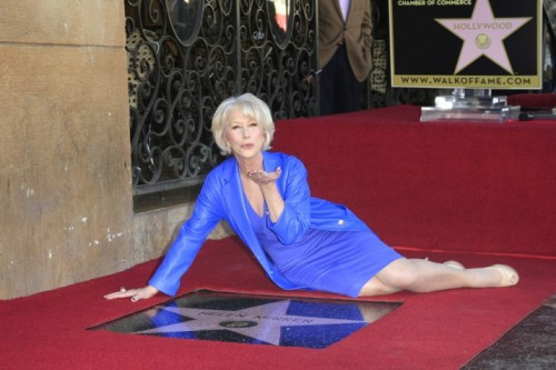 Queen Of The Day: HELEN MIRREN FINALLY STEPS IN CEMENTby Parry Ernsberger http://bit.ly/V41OXC