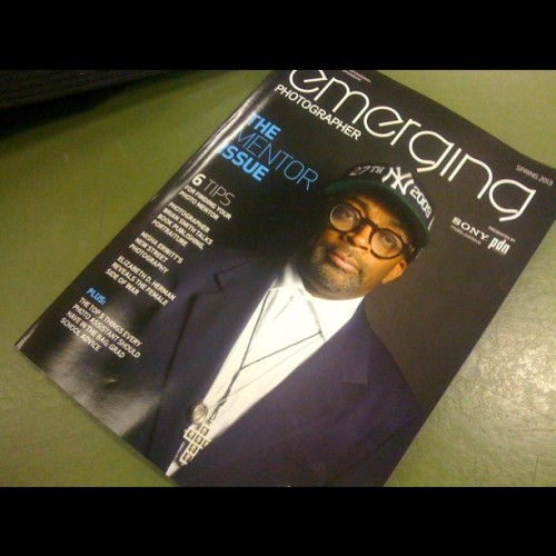 """Portrait photographer Brian Smith photographed film director Spike Lee for his series Art & Soul in partnership with the Creative Coalition and Sony. Photo (c) Brian Smith"" #newyork #photography #emergingphotographer #BrianSmith #spikelee #spring2013 #thementorissue #art&soul #magazine"