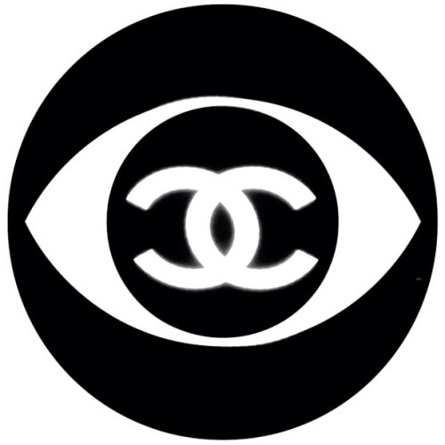 the all seeing eye. #Chanel #Art #Fashion