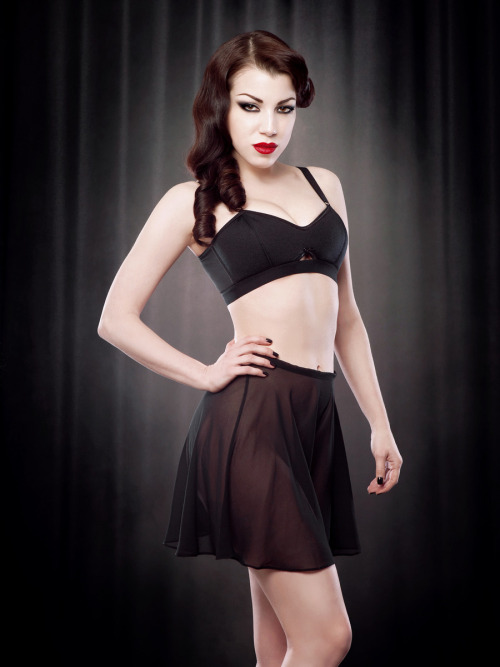 These knickers. I want them. via: Kiss Me Deadly