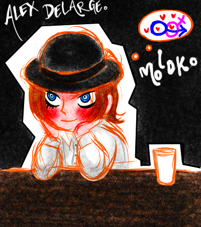 molokomoko:   A small half hour doodle of Alex fantasizing.