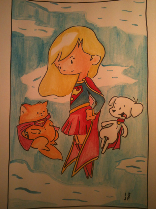 Supergirl and friends!!