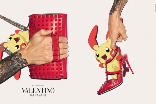 pokexfashion:  valentino accessories f/w 2013; terry richardson & plusle x2