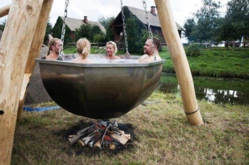 I asked my husband for this hot tub…