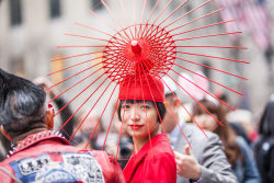 We love this elaborate DIY hat from yesterday's Easter Parade…Midtown East, NYC (via Racked)