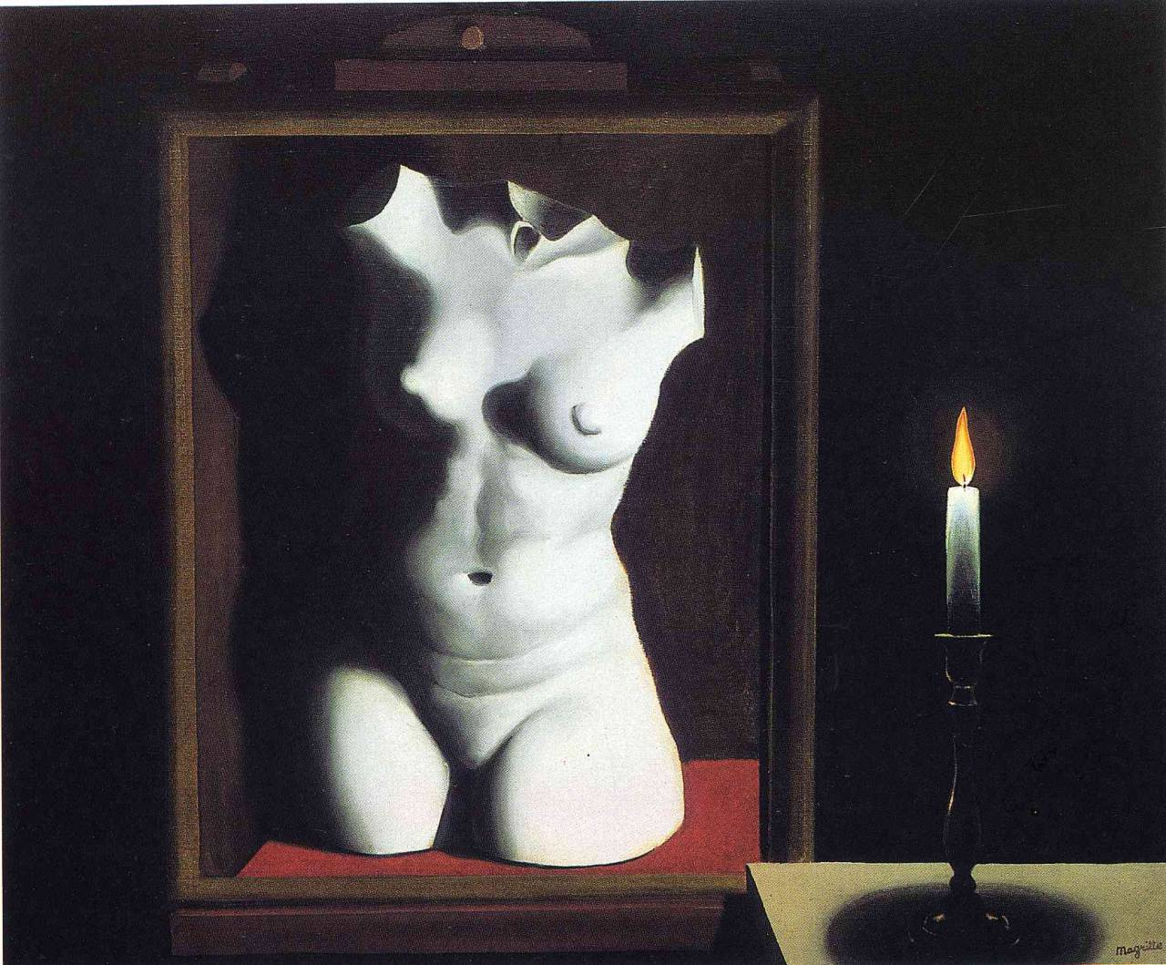 The light of the coincidence - René Magritte