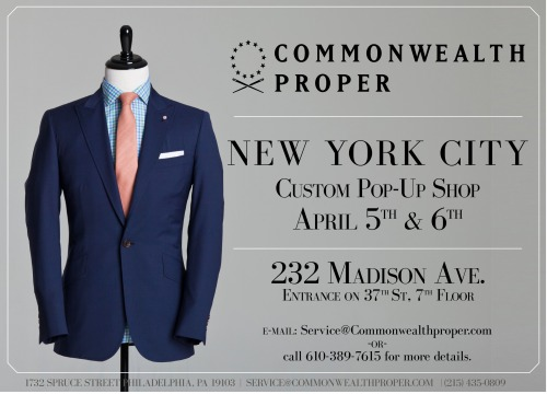 CMMP back in NYC at our 232 Madison Ave. permanent pop-up.