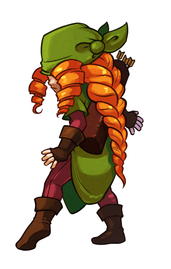 towerfall:  Green Archer - The Vigilante Thief