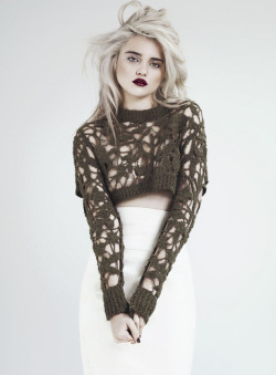 what-do-i-wear:  SKY FERREIRA POSES FOR ANDREW YEE IN S MODA MARCH 2013