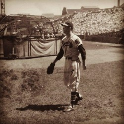 #Brooklyn #Dodgers @ #Boston #Braves.  #classic #baseball #vintage #photograph #sports