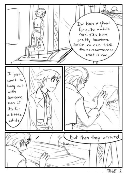 prosonic:  Comic about them meeting…It's lame and short but I wanted to do some sort of comic with them Enjoy?