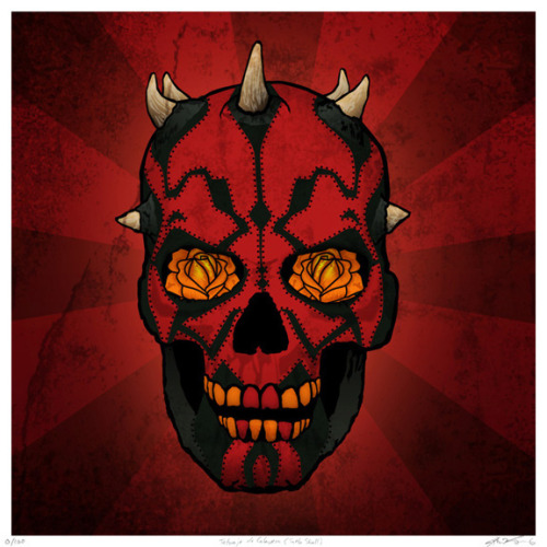 Darth Maul Calavera