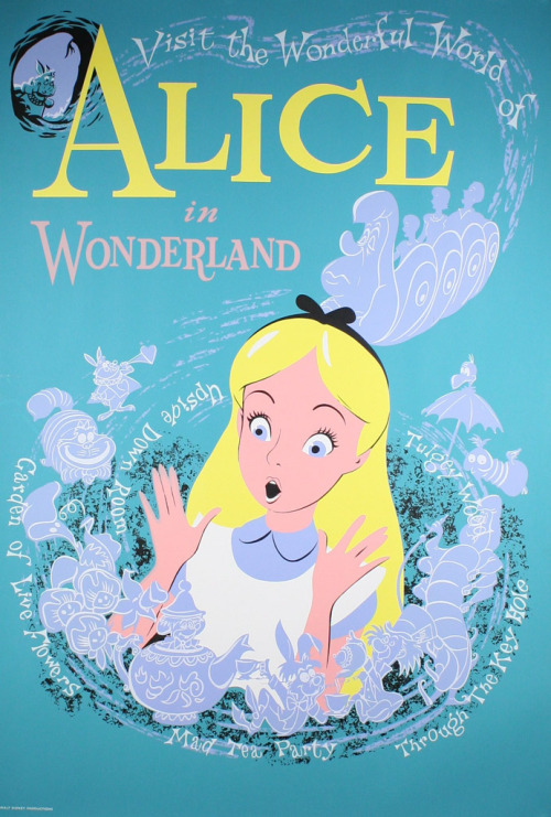 llaaamaaaface:  Alice in Wonderland (1951)
