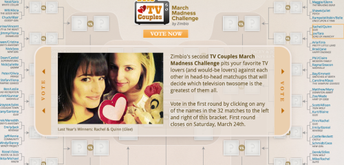 whathurtsmemost: vote Faberry-fandom! VOTE! lets win this thing AGAIN! [CLICK in the picture to VOTE]