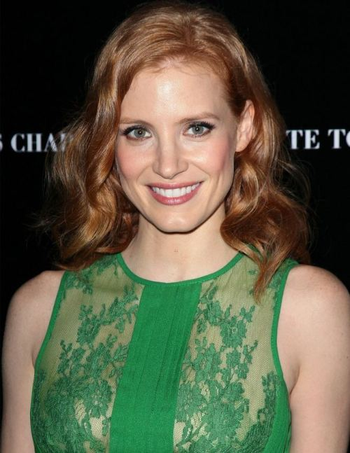 There should always be more Jessica Chastain on tumblr.