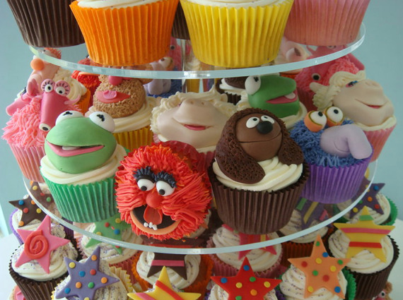 I call Miss Piggy!  http://www.geeknative.com/7103/muppet-cupcakes-wedding-grub-2/