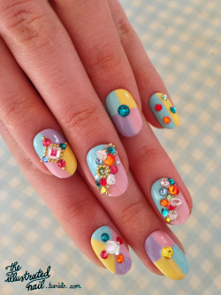 theillustratednail:  HAPPY EASTER! x