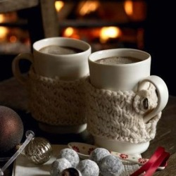 winter chocolate hot chocolate fire fall autumn warm cozy fireplace hot cocoa mug sweaters