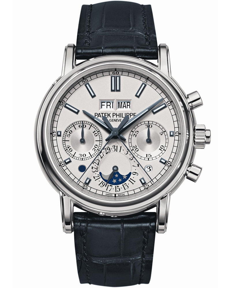 Patek Phillipe Split Seconds Chronograph and Perpetual Calendar. $317,000. Petty cash.