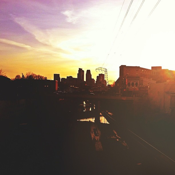 Great North Expeditions™ // #minneapolis #minnesota #sunset #skyline #minnstagramers