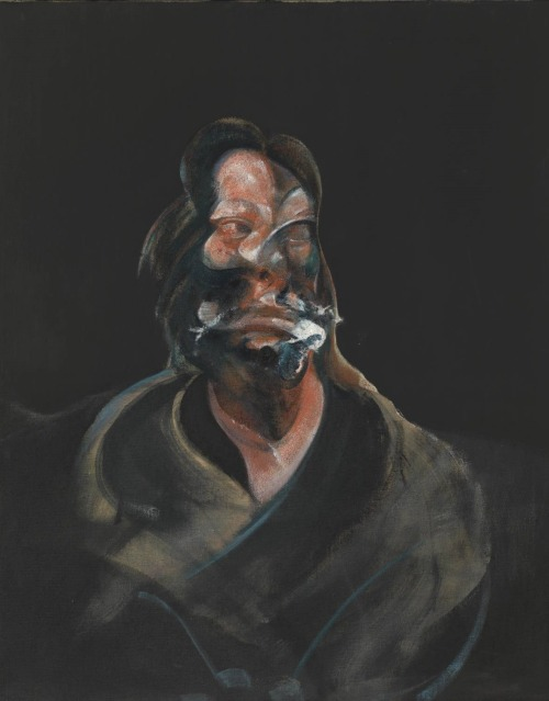 vestal-virgin:  Francis Bacon, Portrait of Isabel Rawsthorne, 1966