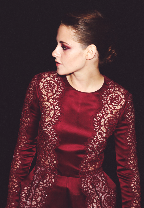 Kristen Stewart at the Metropolitan Museum's Costume Institute Gala 2013