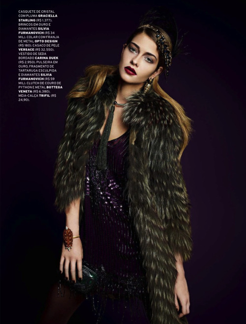Ana Beatriz Barros by Paschoal Rodriguez for L'Officiel Brazil (May 2013).