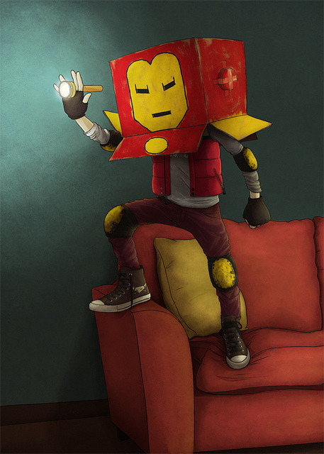 Iron Man by Camilo Otálora//behance.