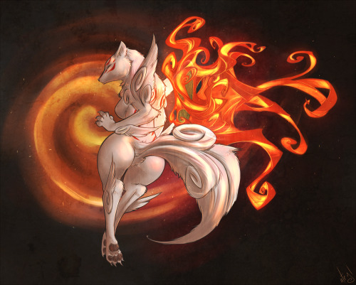 Amaterasu - for my friend Ace-WIndham. YouTube video