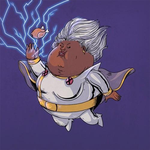 alexmdc:  Chunky Storm #famouschunkies (at 🌝)