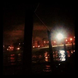 My #backyard. #lakemichigan #pier #latergram #nighttime #city #lake #therapy #nature #grounding #healing #chicago